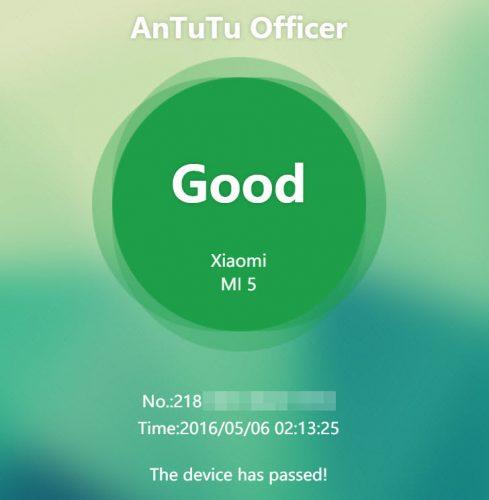 app differentiate original replica phones officer 2