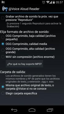 read text aloud spanish record