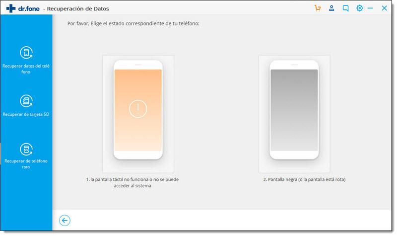 select Black screen