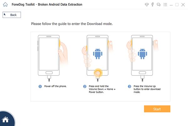 Enter download mode
