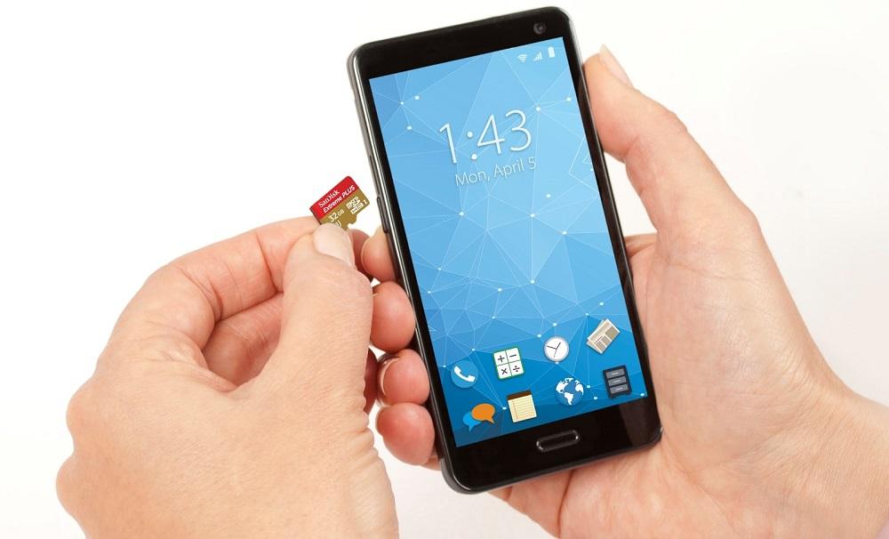Phone memory card